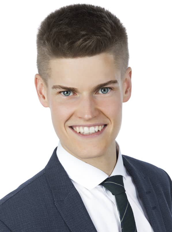 Oliver Rosengren (M), kommunalråd i Växjö.