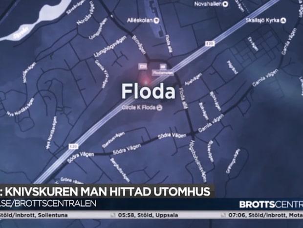 En man hittades knivskuren i Lerum