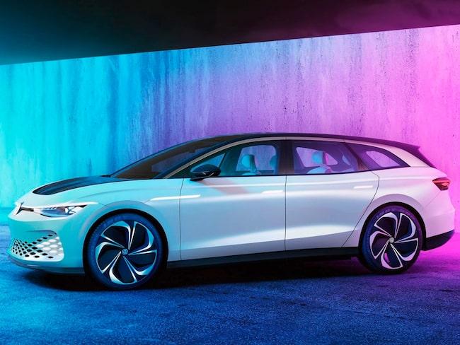 Kommande storsäljare? VW:s elektriska familjekombi ID. Space Vizzion.