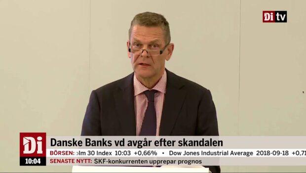 Danske ber kunder och aktieägare om ursäkt