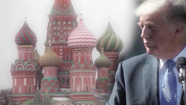 """Donald Trump: """"Vi drar oss ur Rysslandsavtalet"""""""