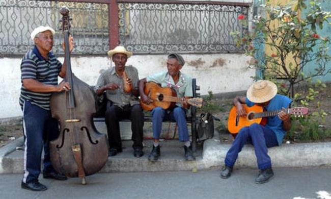Vart man än begav sig så fanns musiken alltid där. FOTO: BJÖRN ANDERSSON
