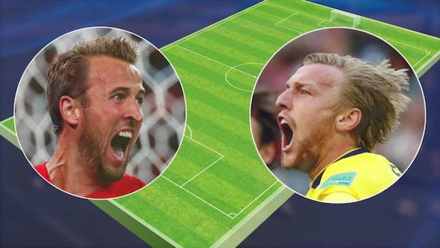Sverige mot England – vilka vinner på lördag?