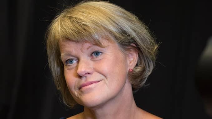 Ulla Andersson är ekonomisk-politisk talesperson för Vänsterpartiet och har nyss varit sjukskriven. Foto: SUNE GRABBE
