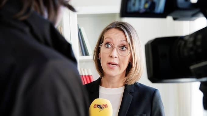 Advokaten Amanda Hikes håller med om att arbetet med Johanna Möller bör avslutas. Foto: OLLE SPORRONG