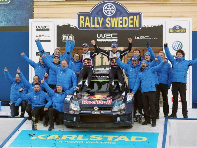 Grattis alla rallyvinnare! Nu får ni åka till rallyt för att se världens bästa förare i VM-tävlingen.