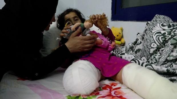 Kaos på sjukhuset i Syrien – Sara, 8: Var är mitt ben?