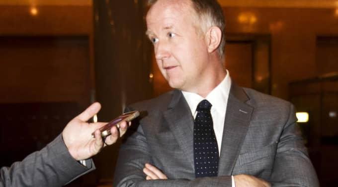 Johan Pehrson kritiseras hårt av Liberala ungdomsförbundet. Foto: Nils Petter Nilsson