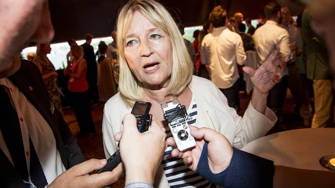 EU-parlamentarikern Marita Ulvskog Foto: JENS L'ESTRADE