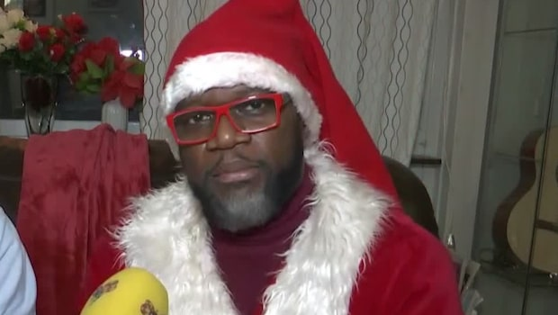 Julspecial: Victor är utbildad till proffstomte i Kanada