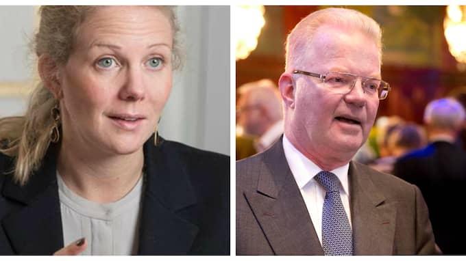 Louise Lindh får vänta med att ta över hela familjeimperiet från pappa Fredrik Lundberg.