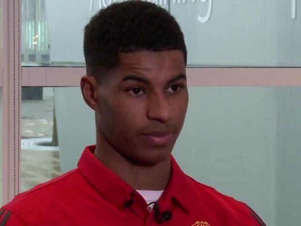 """Rashford: """"De formar dig till en United-spelare"""""""