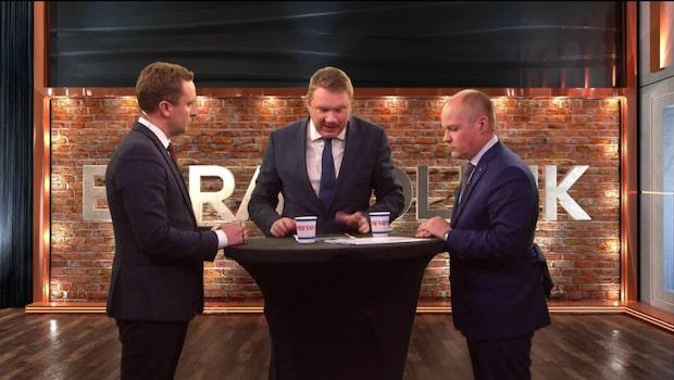 Tomas Tobé (M) i debatt mot Morgan Johansson (S) om hedersförtryck