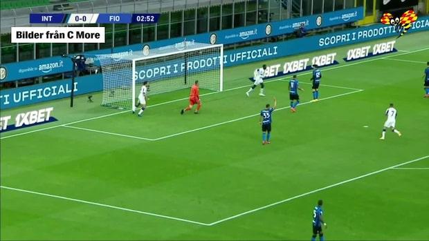Här tar Fiorentina ledningen mot Inter