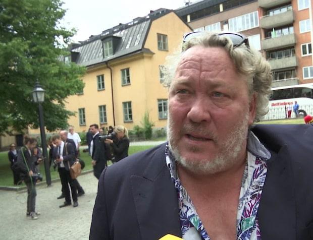 """Leif Andrée på Nyqvists begravning: """"Minns hans skratt"""""""