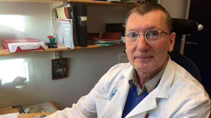 Barnläkaren Mats Reimer har anmält Dr Sannas AB till Livsmedelsverket och Läkemedelsverket. Foto: EVELINA NEDLUND