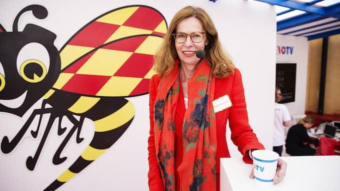 Birgitte Bonnesen har jobbat på Swedbank halva sitt liv och utsågs till Sveriges mäktigaste finanskvinna 2017 av tidningen Veckans affärer. Foto: LISA MATTISSON/EXPRESSEN