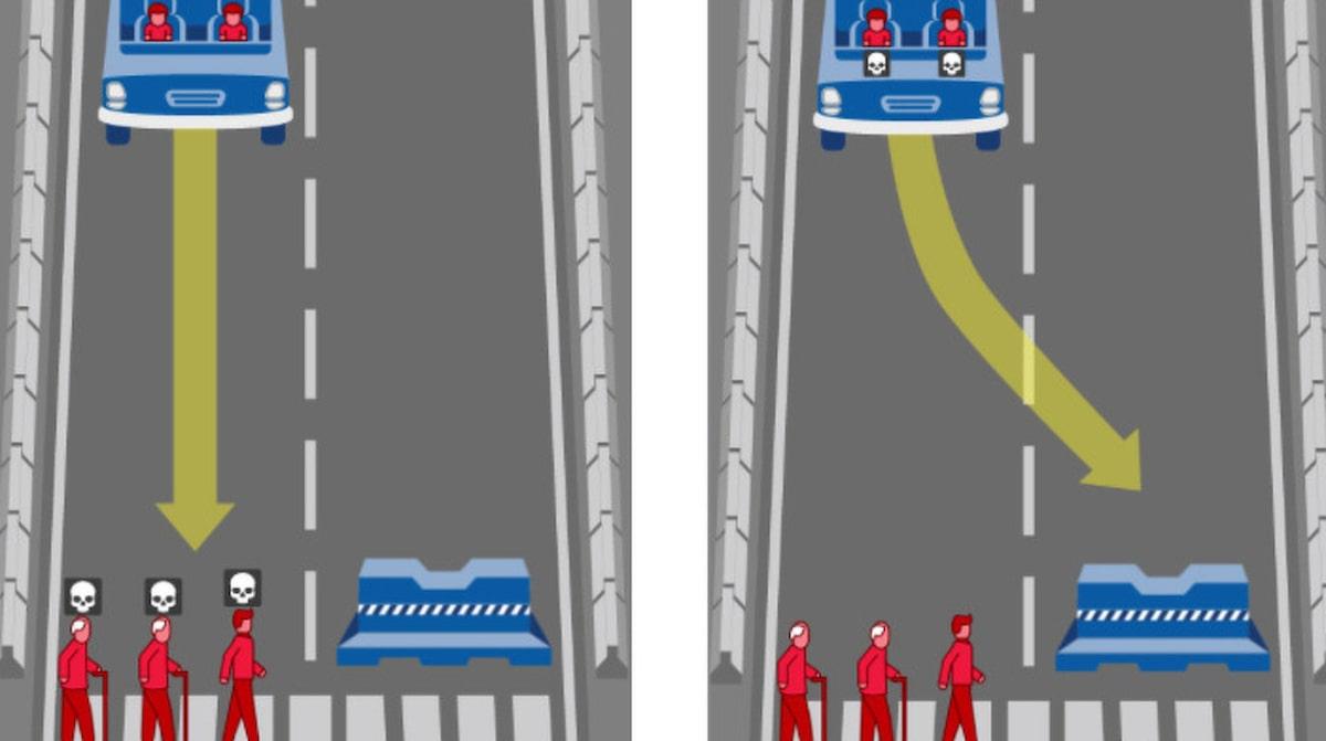 Sjalvkorande bilar blir latta offer i trafiken