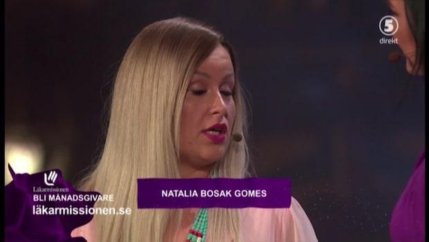 Natalia Bosak Gomes är Mammagalans första vinnare