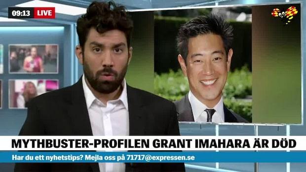Tv-profilen Grant Imahara är död