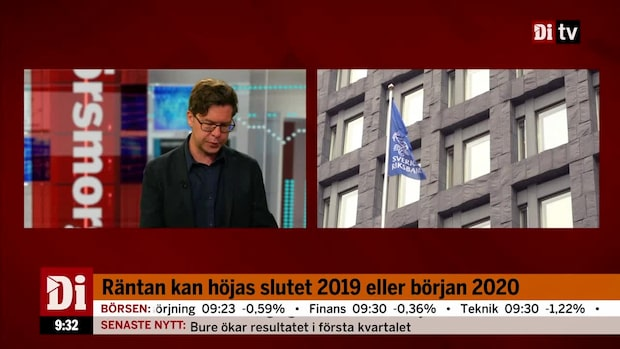 Munkhammar om Riksbankens räntebesked