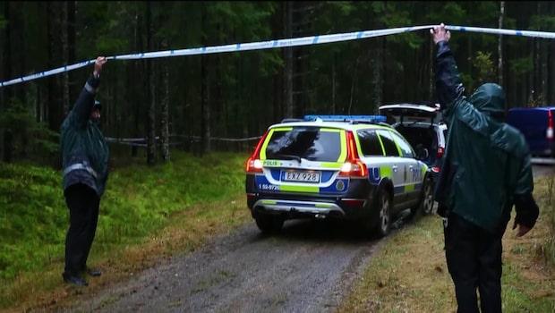 """Polisen: """"Påträffade misstänkte mannen avliden"""""""