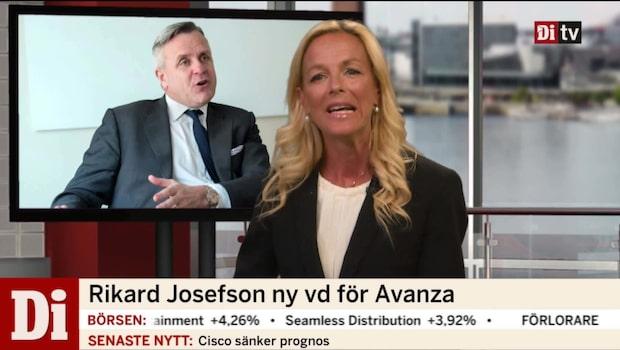 Rikard Josefson ny vd för Avanza