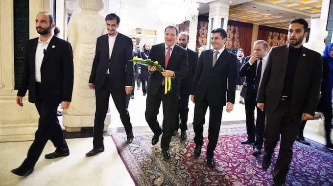 Statsministern har under helgen varit på besök i Iran. Foto: Anna-Karin Nilsson / ANNA-KARIN NILSSON EXPRESSEN