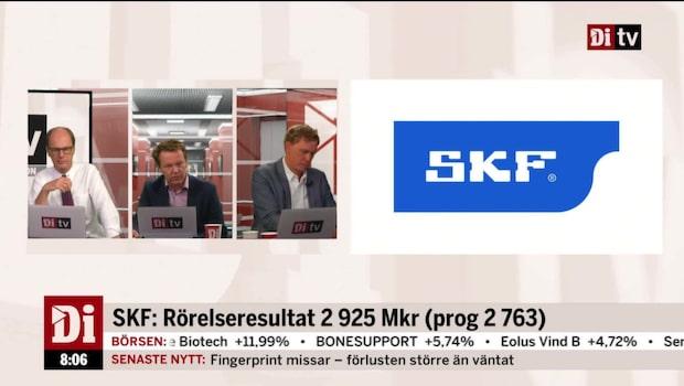 """Analytikern om SKF: """"Ett rekordkvartal"""""""