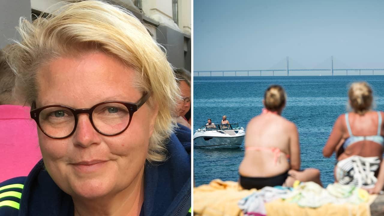 Protester mot det danska bajsvattnet