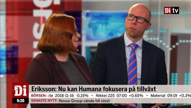 Mattias Eriksson: Humanas bästa rapport sedan notering