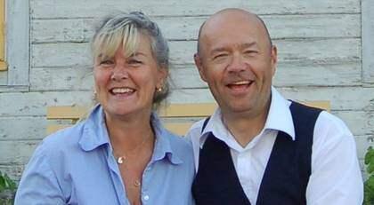 """Ulf Larssons sambo Lillemor Torsslow berättar om hur hon kämpade. """"Jag gjorde mun mot munmetoden i över en timme."""" Foto: Privat"""