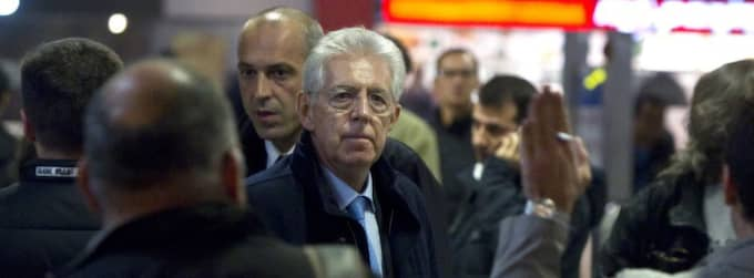 Mario Monti blir den som ska efterträda skandalomsusade Silvio Berlusconi och försöka få ordning på Italien igen. Foto: Angelo Carconi
