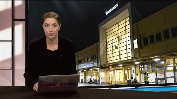 Misstänkt föremål på flygplats