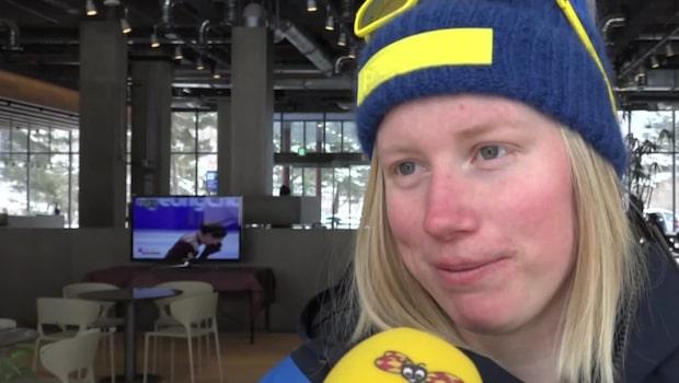 """Sandra Näslund: """"Var väldigt förbannad"""""""