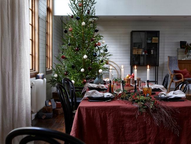 Julen 2018 är mjuk och stämningsfull på Ellos Home.