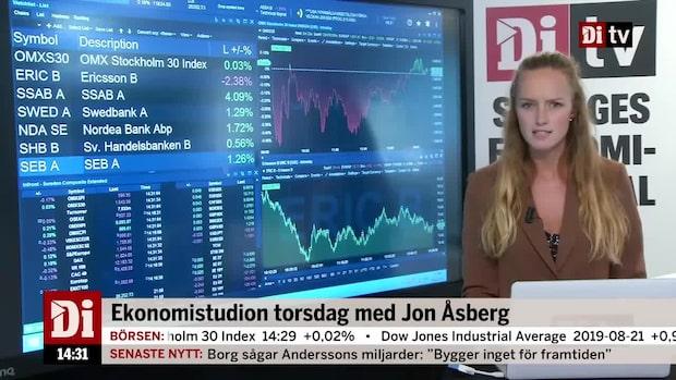 Marknadskoll 14.30: Svajig börs - Ericsson i botten