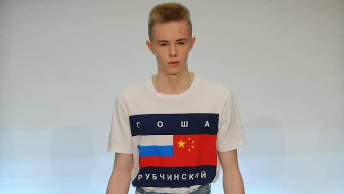 NU VAR DET 1989. Gosha Rubchinskijs stil anammar en estetik från det sena Sovjet.