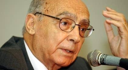 Den portugisiske författaren José Saramago avled i sitt hem i Lanzarote på Kanarieöarna, 87 år gammal. Foto: Kent Gilbert
