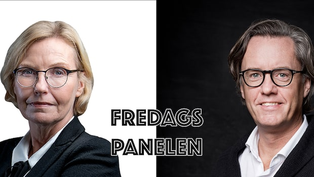 Fredagspanelen med Lotta Engzell-Larsson och Patrik Wahlén