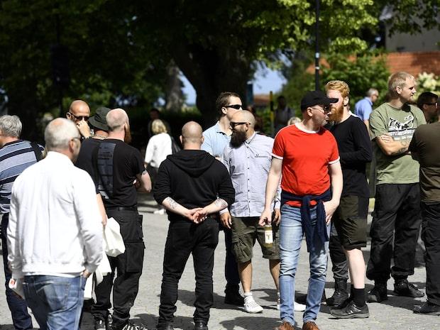 Nazistiska NMR på plats i Visby