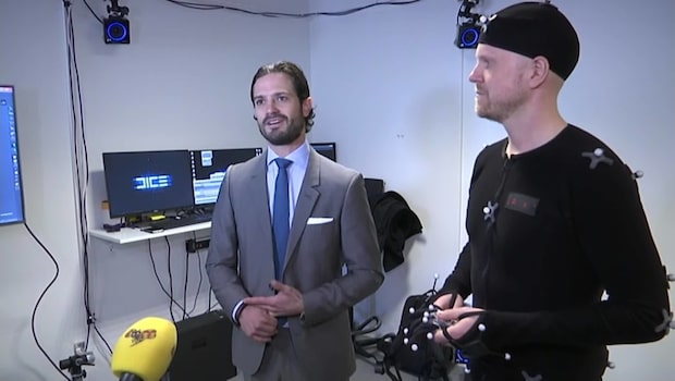 """Prins Carl Philip om spelmarknaden: """"En fantastisk värld"""""""