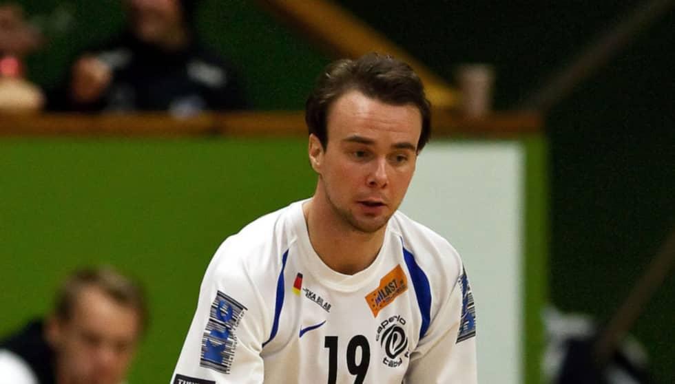 Andreas Ackevi under sin tid i Capertiotäby - men därefter har karriären förstörts av skador. Foto: Roger Vikström
