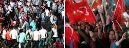 Jubel i Turkiet efter valet – från två håll