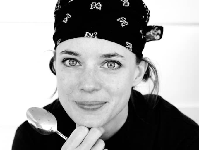 """""""Det är jätteroligt att servera ett koncentrat av Skåne"""", säger hon. Foto: MIRIAM PREIS"""