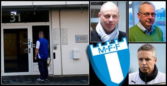 HOTBREV. En civilklädd polisman kallades till MFF:s kontor efter att ett hotbrev mottagits i fredags förra veckan.