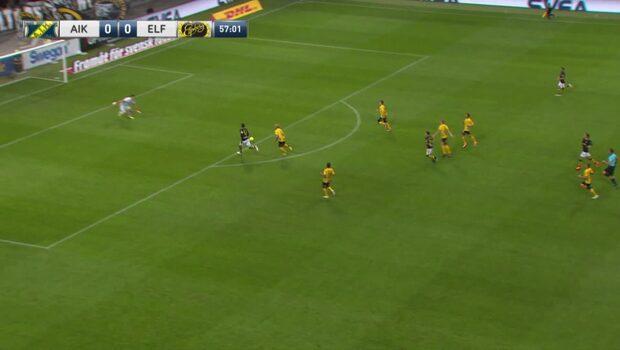 Goitom ger AIK ledningen mot Elfsborg