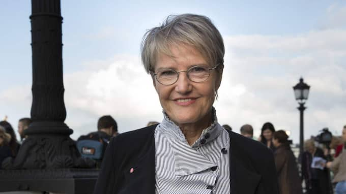 Framtidsministern Kristina Persson. Foto: Ylwa Yngvesson