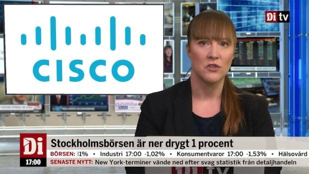 Di Nyheter 17.00 15 november - Cisco stiger på rapport