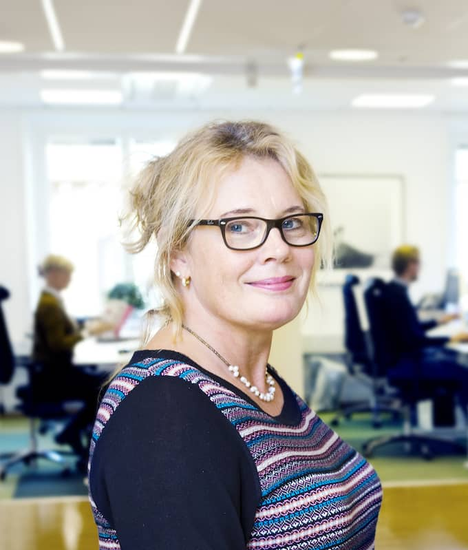 """""""Våga öppna pensionskuverten och gå in på minpension.se. Då får man en bra överblick av alla pensionsdelarna"""", säger Anna Allerstrand, pensionsexpert på PTK. Foto: LINUS MEYER / LINUS MEYER"""